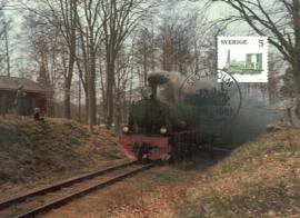 1981 SWEDEN - Locomotive Steam railway