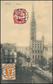 © 1922 - DANZIG - City hall
