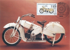1983 GERMANY - Motor cycle Mars 1925