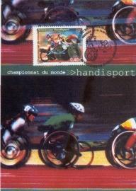 2002 FRANCE - Wheelchair race