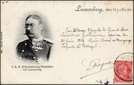 © 1905 LUXEMBOURG Grand Duke William IV