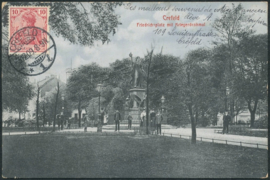© 1909 - GERMAN REICH - Crefeld Statue Germania