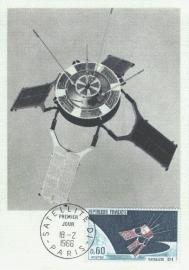 1966 FRANCE - Satellite