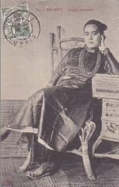 © 1914 INDO CHINA Annamite woman