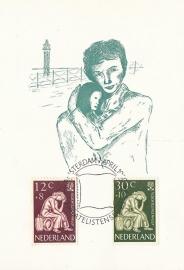 ® 1960 - CATA 736/37 Vluchtelingen