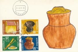 ®® 1971 NVPH 436/39 NED. ANT. Cultuur