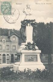 © 1906 - FRANCE Statue of Menier