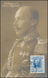 © 1938 - ALBANIA King William of Wied