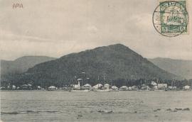 © 1908 - SAMOA Ships in harbor