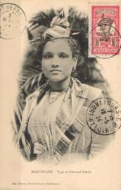 © 1924 MARTINIQUE Creole woman costume