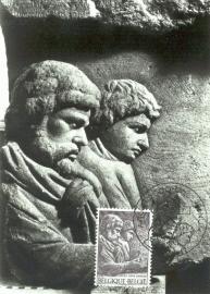 2000 BELGIUM - Carved figures Arlon
