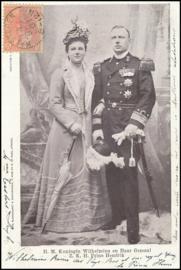 © 1901 NETHERLANDS Queen Wilhelmina