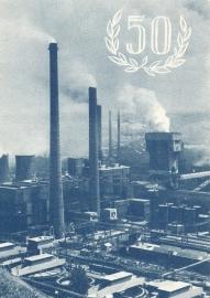 æ 1952 - 50 jaar Staatsmijnen Folder Engels