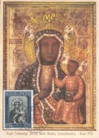 1956 VATICAN - Madonna