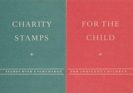 æ 1950 - Kinderzegels Folder Engels