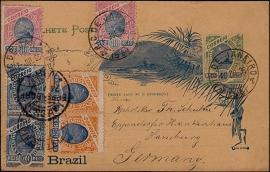 © 1896 - BRAZIL Sugar loaf mountain