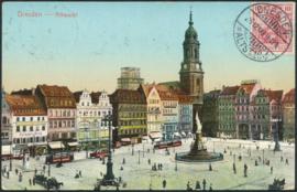 © 1907 - GERMAN REICH - Dresden Statue Germania