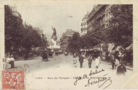 © 1903 - FRANCE Statue of the Republic - Paris