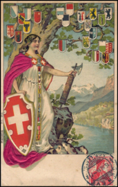 © 1914 SWITZERLAND Helvetia