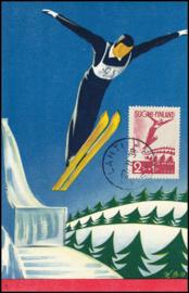 © 1938 - FINLAND Ski-jumping