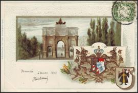 © 1903 - BAVARIA Coat of arms