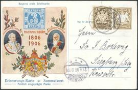 © 1906 - BAVARIA Coat of arms