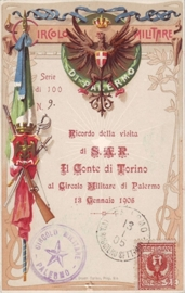 © 1905 - ITALY - House of Savoy Coat of arms