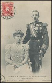 © 1907 - SPAIN - King Alfonso XIII