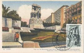 1952 ALGERIA - Monument aux morts
