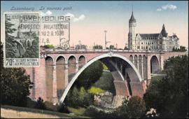 © 1936 LUXEMBOURG Bridge Adolphe