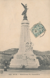 © 1906 - FRANCE Monument of the Centenary - Nice