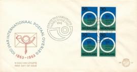 æ E 057 - 1963  Internationaal Postaal overleg 100 jaar