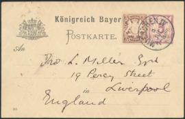 © 1889 - BAVARIA Coat of arms