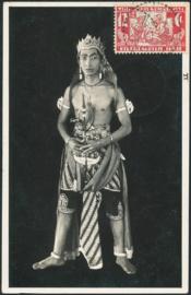 ®®®® 1931 - CATA 174 NED-INDIË Lokale danser