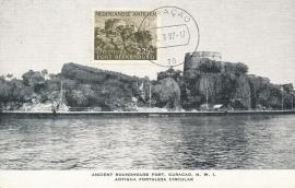 ®® 1953 NVPH 245 NEDERL. ANTILLEN Fort Beekenburg