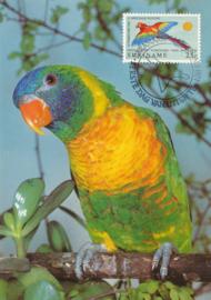 ®®® 1971 - CATA 555 - SURINAME Papegaai