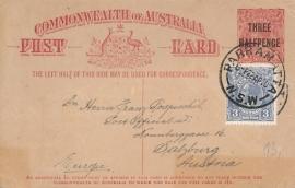 © 1930 - AUSTRALIA Kangaroo and Emu