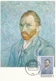 PG010 Van Gogh Self portrait 1889