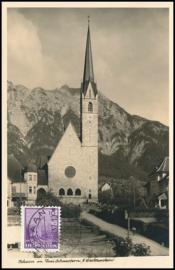© 1937 LIECHTENSTEIN Church Schaan
