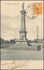 © 1904 ARGENTINA Republic statue Phrygian cap