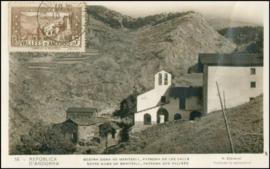 © 1934 - ANDORRA Chapel Meritxell