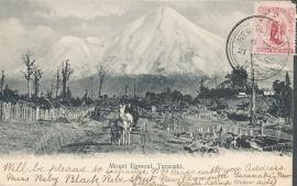 © 1905 - NEW ZEALAND - Mount Egmont