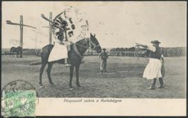 © 1912 - HUNGARY T-shaped sweep well