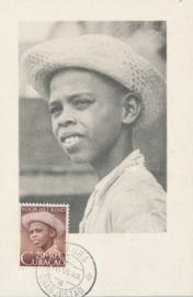 ®® 1948 - NVPH 204 CURAÇAO Jongensportret