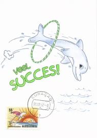 ®® 1990 NVPH 960 NED. ANTILLEN Dolfijn