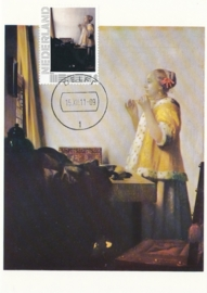 PV002 J. VERMEER Woman with pearl necklace