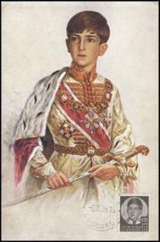 © 1938 YUGOSLAVIA  - Prince Peter II