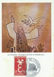 1958 FRANCE - Dove Colombe