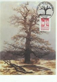 1992 FRANCE - Oak tree
