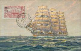 © 1938 - NEW CALEDONIA - Three-masted